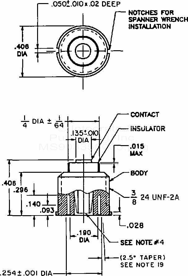 ms90335 connector  receptacles  plugs  adapter  el  embedded  printed circuit board lamp